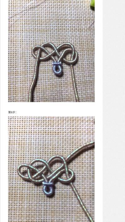中国结论坛 找了很久的~绕线花结 很久,绕线,绕线结编法,绳结绕线方法,绕线打结方法图解 图文教程区 122117yzfod8f8votfd4v4