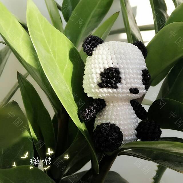 中国结论坛 熊猫宝宝~  作品展示 112346bl963aa6ocafacuu