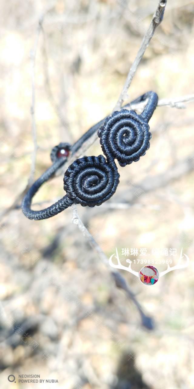 中国结论坛 卷卷手绳和耳饰  作品展示 082441i6a88gb638ab8gvw