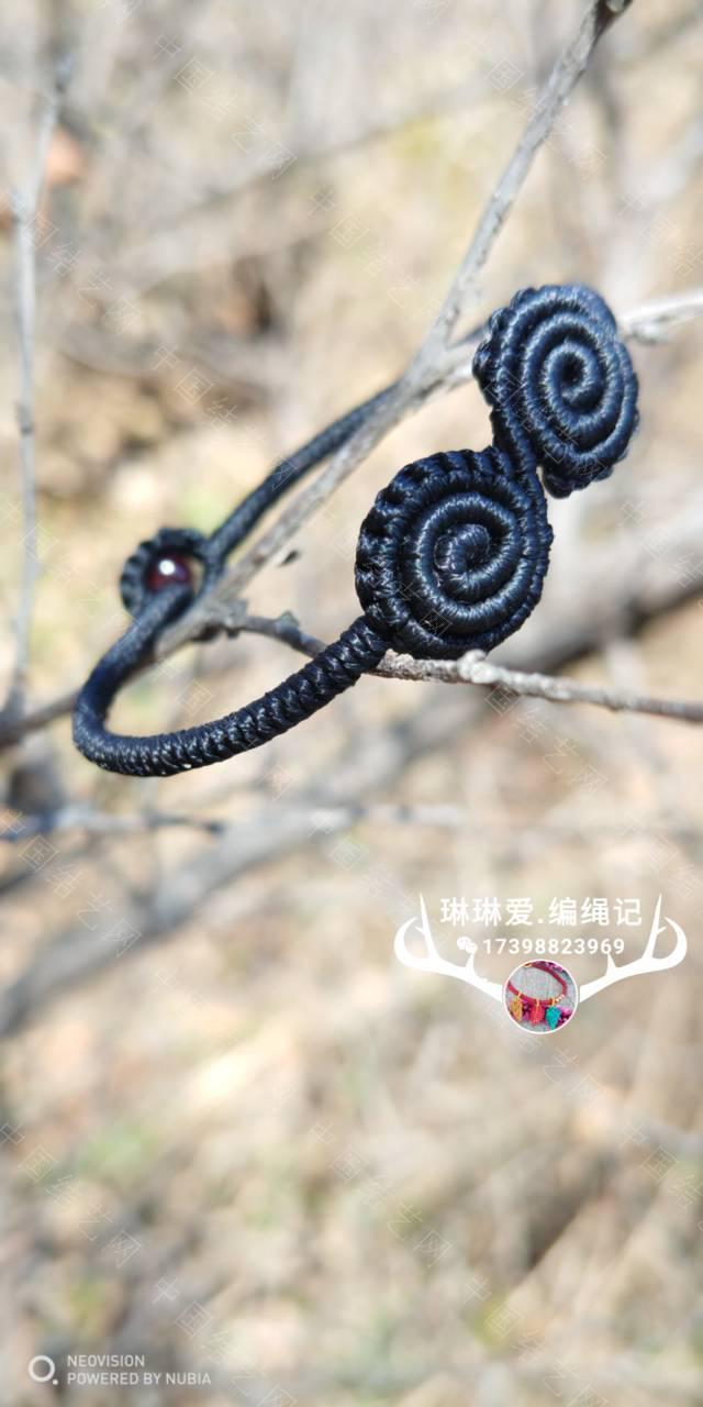 中国结论坛 卷卷手绳和耳饰  作品展示 082442bicxcarhhzdalcag