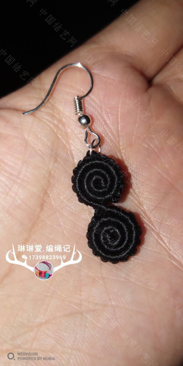 中国结论坛 卷卷手绳和耳饰  作品展示 082442p3ezkur5md8os85m
