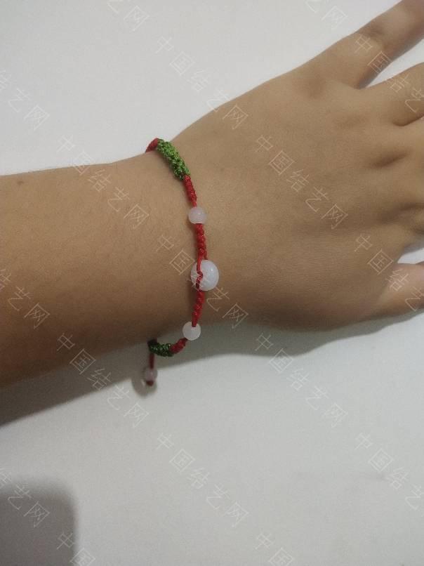 中国结论坛 给妹妹改了一个脚链  作品展示 084254tu7tu959f7mttu75