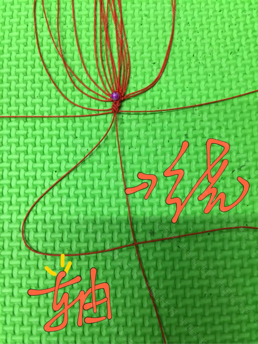 中国结论坛 曼珠沙华教程(二)  立体绳结教程与交流区 185422sl1411xfmf99dl1l