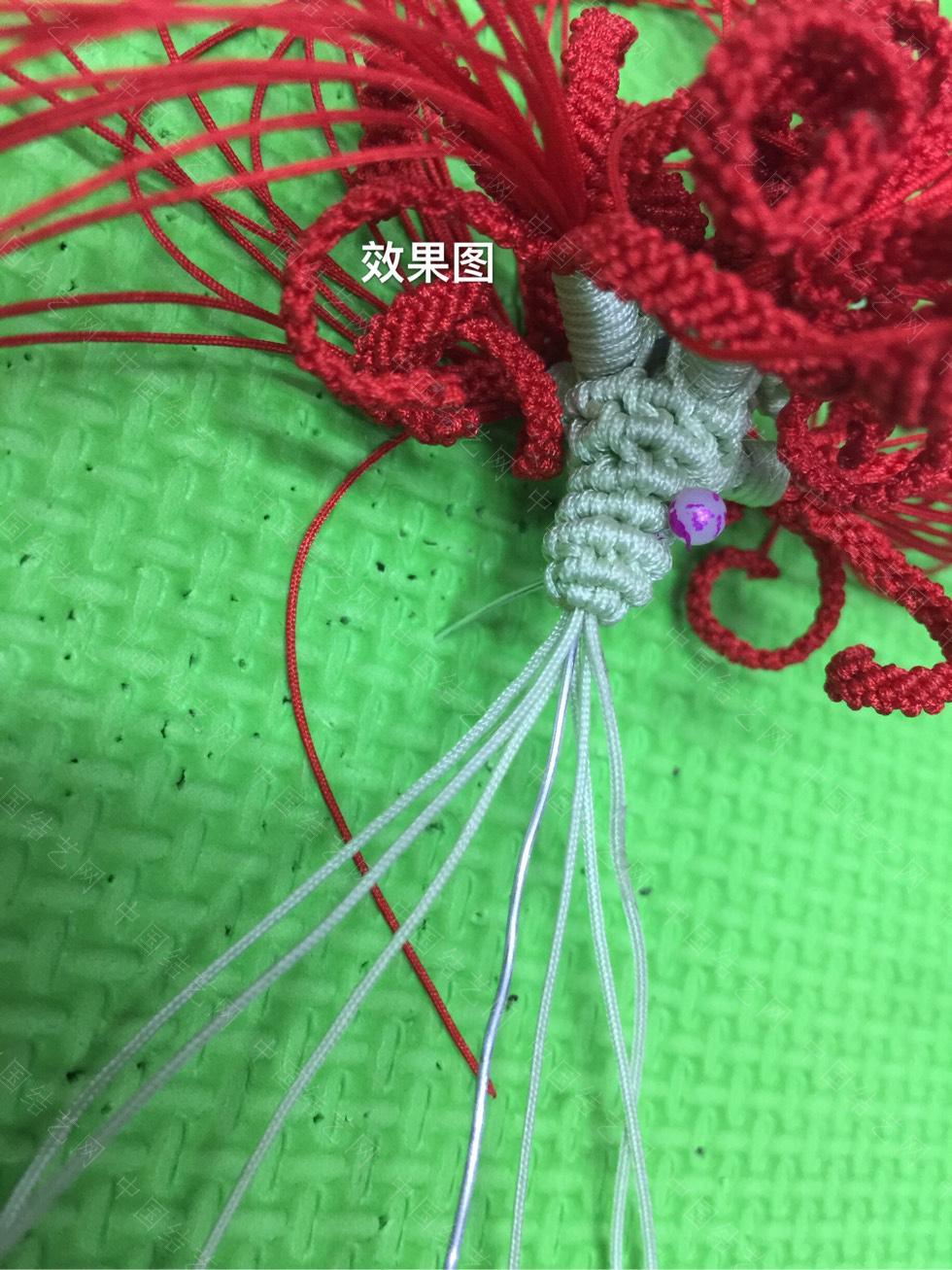 中国结论坛 曼珠沙华教程(三)  立体绳结教程与交流区 154720cl559g59fetzfu5s