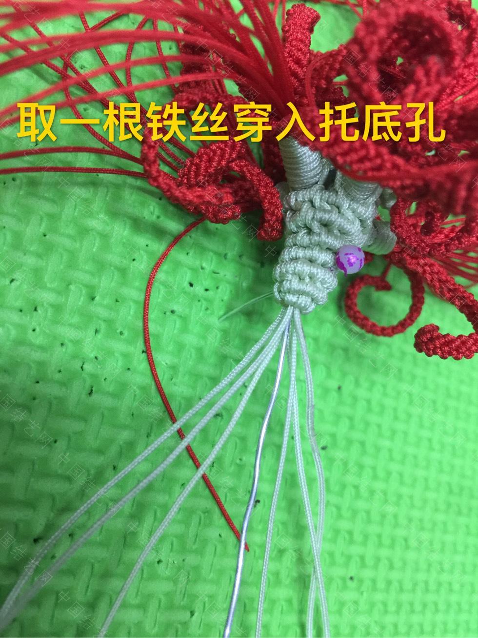 中国结论坛 曼珠沙华升级版完成图  立体绳结教程与交流区 154946a3hjmsp7m3ums6rm