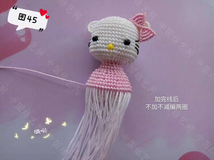 中国结论坛 凯蒂猫教程 教程,凯蒂猫动画片竹子公主,凯蒂猫其实很恐怖,凯蒂 立体绳结教程与交流区 144048qjfq53lzqxfc353o