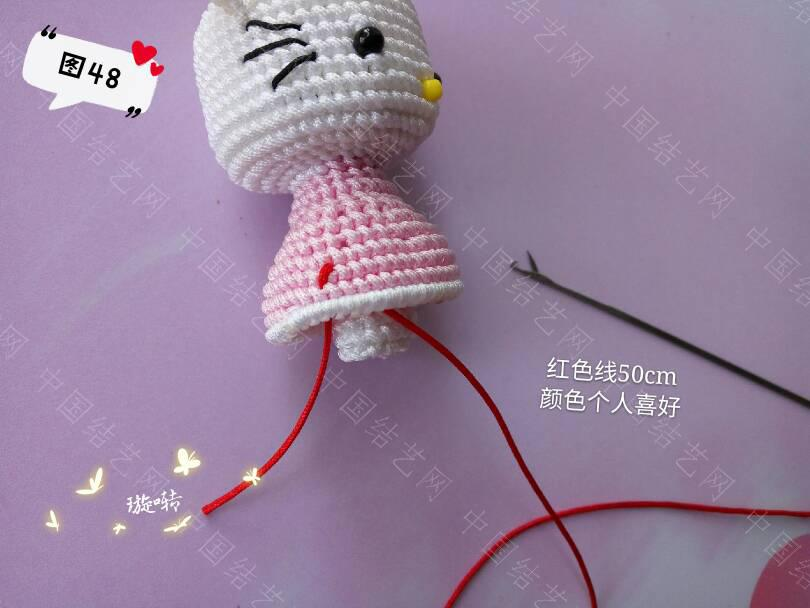 中国结论坛 凯蒂猫教程 教程,凯蒂猫动画片竹子公主,凯蒂猫其实很恐怖,凯蒂 立体绳结教程与交流区 144050d1u161xaunntp22n