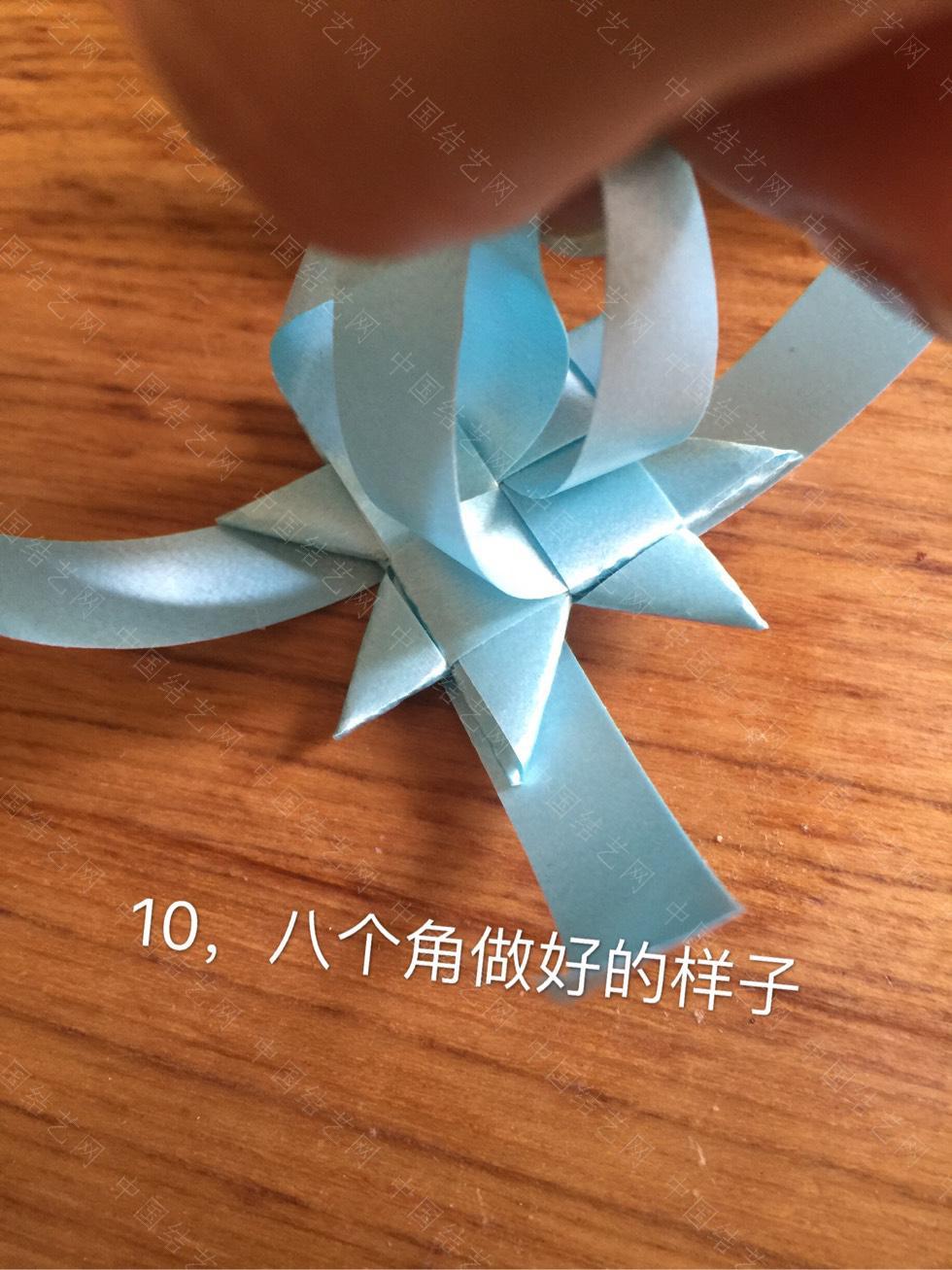 中国结论坛 丝带风铃——八角花  图文教程区 104916hgg96g68grar74br