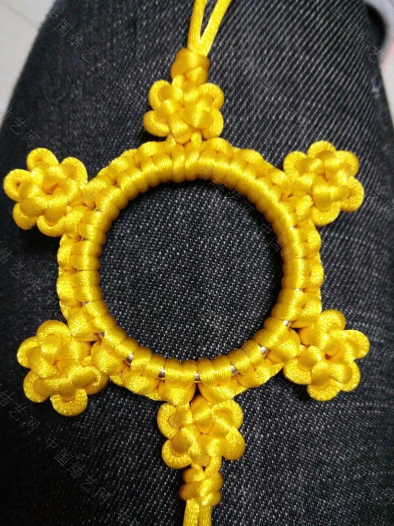 中国结论坛 高贵典雅的黄色挂饰  作品展示 210151mrntrj0trn9r91h0