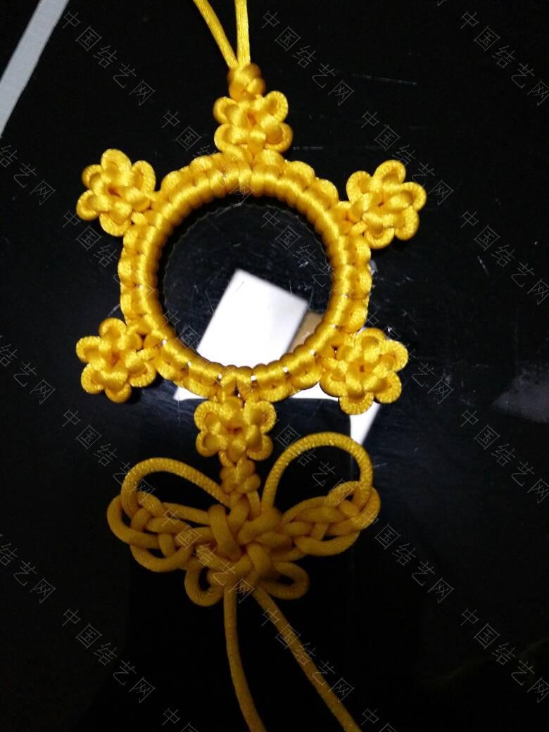 中国结论坛 高贵典雅的黄色挂饰  作品展示 210153fxwx12zxwwrxqckk