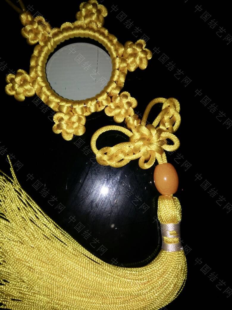 中国结论坛 高贵典雅的黄色挂饰  作品展示 210156lrmqrwmara9oltaa