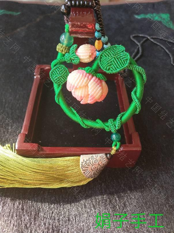 中国结论坛 自己设计毛衣链挂饰  作品展示