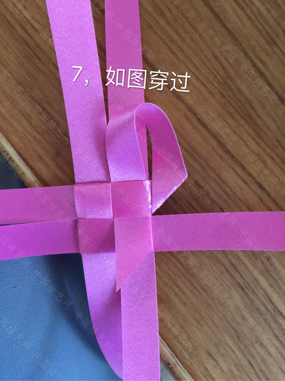 中国结论坛 丝带风铃——灯笼/花环  立体绳结教程与交流区 141357bbteantah9tbbnh2