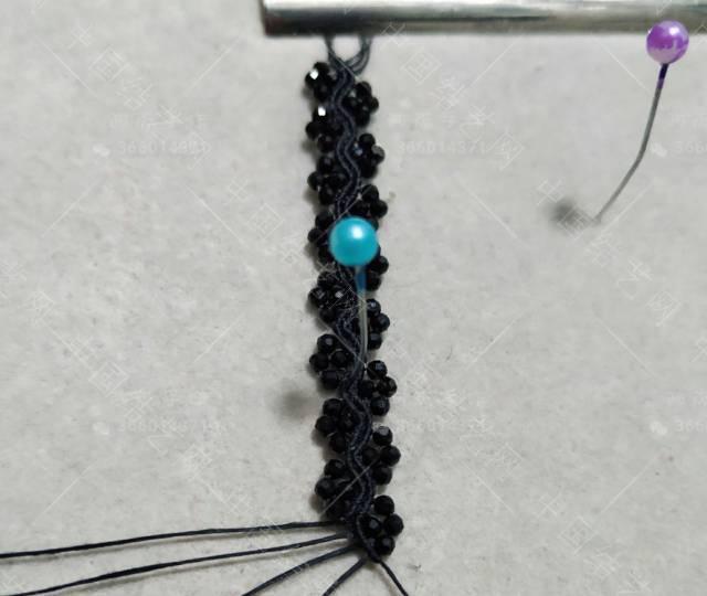 中国结论坛 黑尖晶手链  作品展示 082857oiclvq0dv24zi60z