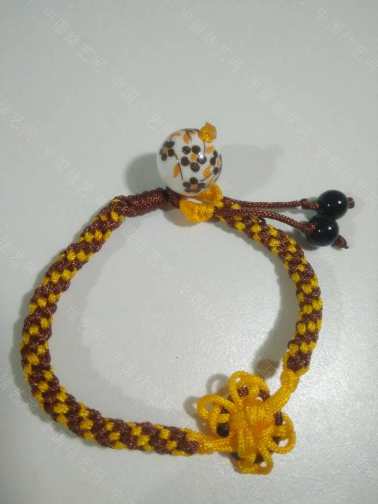 中国结论坛 吉祥结套线+十字吉祥结+金刚结 手链  作品展示 062925dc76177rdf6ff141