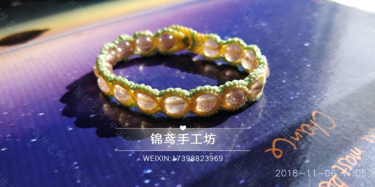 中国结论坛 小清新手链~  作品展示 122859g5r9xui6j5u556lh