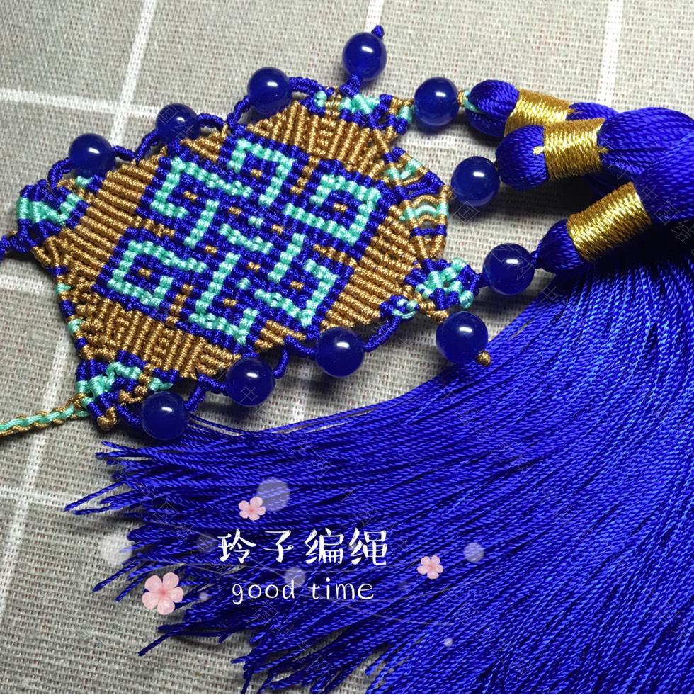 中国结论坛 盘长纹  作品展示 195335u1q77ji1ii15m95x