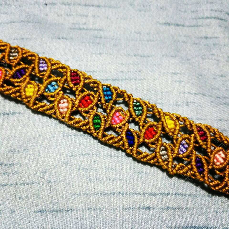 中国结论坛 留住秋的美丽——彩色树叶手链。  作品展示 210210l4gozwkk5usf6dgb