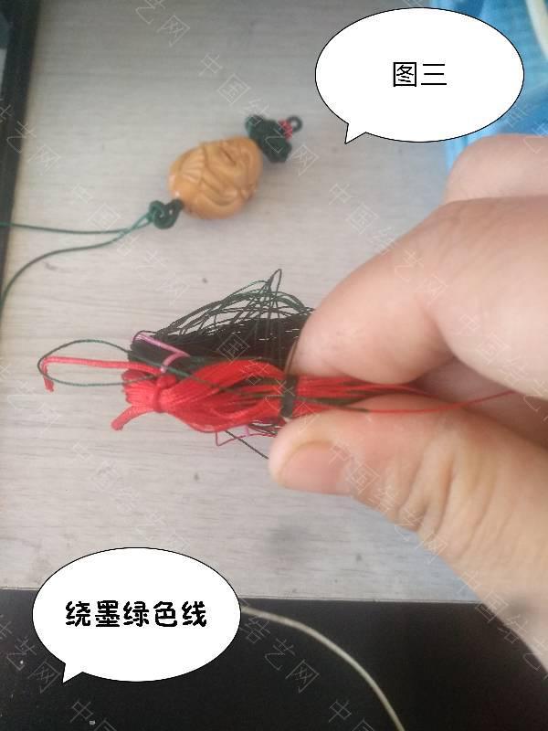 中国结论坛 双绕线流苏  图文教程区 184330m11n1s90loj1vdn1