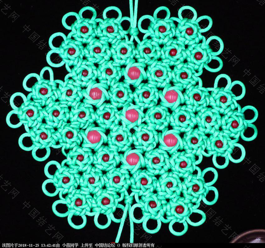 中国结论坛 六耳藻井结48连体之国色天香  作品展示 133929k2a1hyhxzcnwa7mz