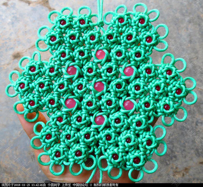 中国结论坛 六耳藻井结48连体之国色天香  作品展示 133935buopt7tx50hhux7d