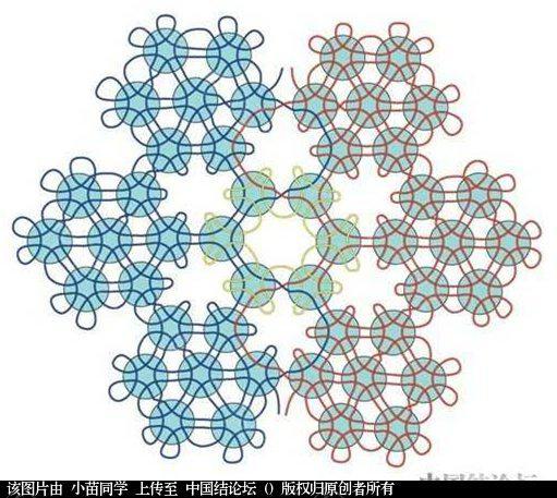 中国结论坛 六耳藻井结48连体之国色天香  作品展示 134151gh0pu0h50vbwm510