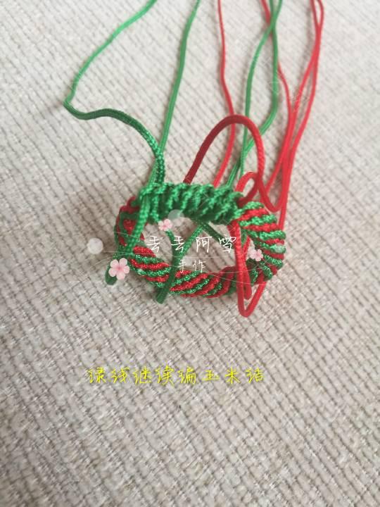 中国结论坛 圣诞花环  图文教程区 165856guq5pcp1y5pcmjwm