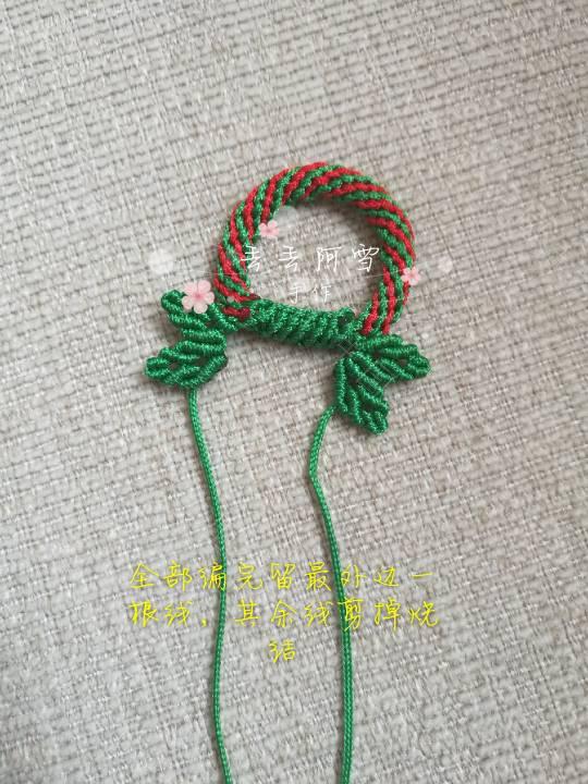 中国结论坛 圣诞花环  图文教程区 165902erlvn1zkr3rkclk8