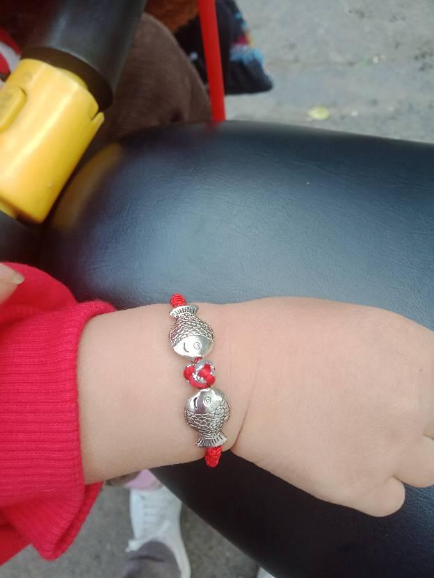 中国结论坛 一岁八个月的外甥女要手链,  作品展示 165257k0k1q00e8dzp8p2a