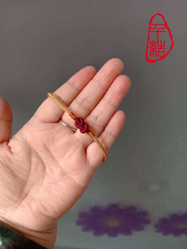 中国结论坛 8字结手绳  作品展示 133654b4tg71tzcxxt344x