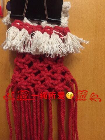 中国结论坛 圣诞袜  立体绳结教程与交流区 202616c65a0aepm0awl938