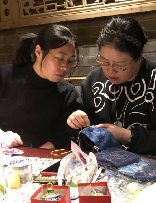 中国结论坛 北京部分结友小聚  作品展示 071225y3gzvo3llza35r58