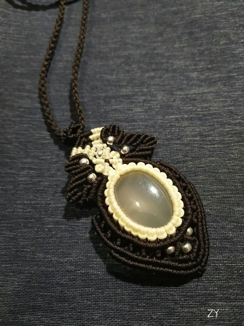 中国结论坛 玛瑙毛衣链  作品展示 125520c8831vz1qlqclyl3
