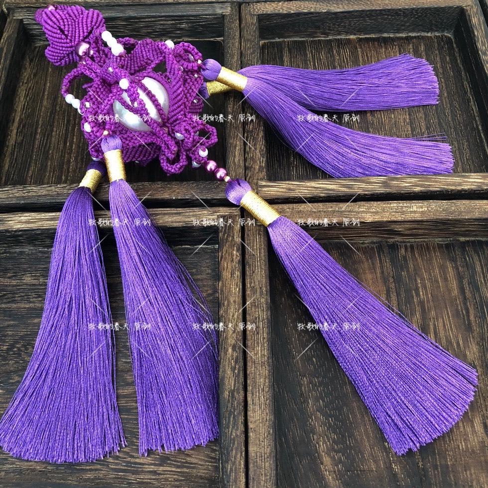 中国结论坛 原创挂饰之姹紫  作品展示 130900d08b3e8fu2u20e2c