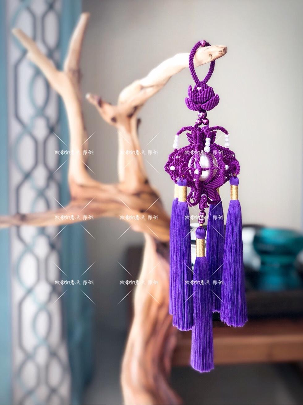 中国结论坛 原创挂饰之姹紫  作品展示 130909ac21xuuutxitcrkq
