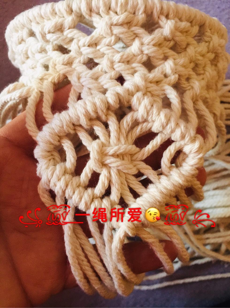 中国结论坛 原创·Macrame 收纳篮  立体绳结教程与交流区 143020m4qzqb8qak8t3g0k