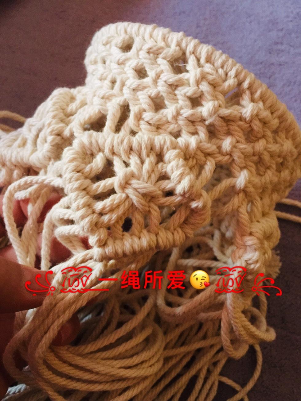 中国结论坛 原创·Macrame 收纳篮  立体绳结教程与交流区 143021f11ycr8cyyguc8ia