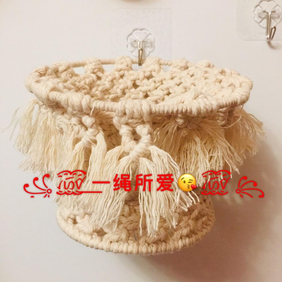 中国结论坛 原创·Macrame 收纳篮  立体绳结教程与交流区 143042a83xvd18616dqd16