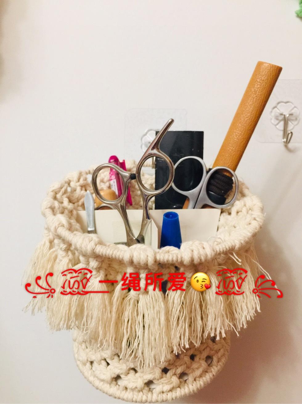 中国结论坛 原创·Macrame 收纳篮  立体绳结教程与交流区 143043h7o57ah5a8fh755v