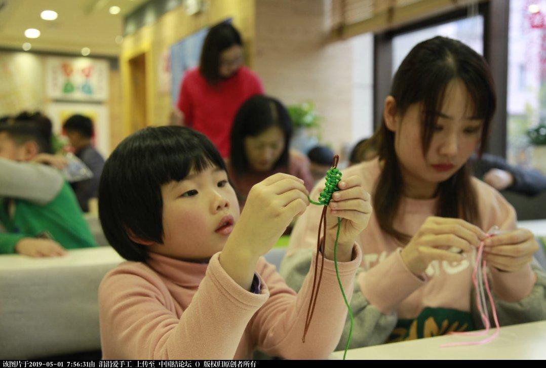 中国结论坛 年轻朝气的大学生们,来自各国,齐聚上海青编舍学习中国传统文化·中国结  结艺网各地联谊会 210019yx7q5pk83p7zvppx
