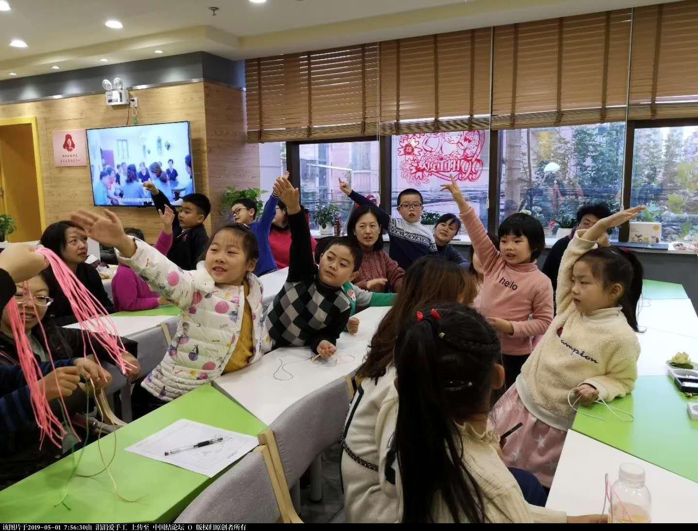 中国结论坛 年轻朝气的大学生们,来自各国,齐聚上海青编舍学习中国传统文化·中国结  结艺网各地联谊会 210020ht1zh92lxfhm4h8x