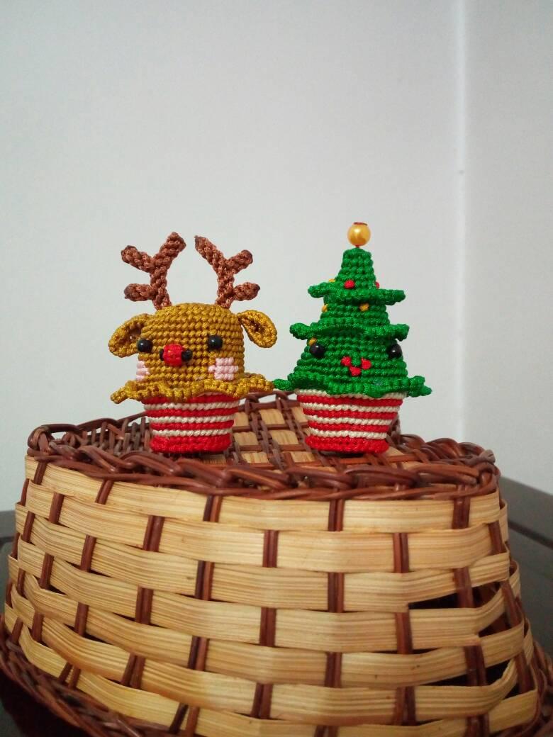 中国结论坛 圣诞纸杯蛋糕  立体绳结教程与交流区 172718j3sjusso0b38wu38
