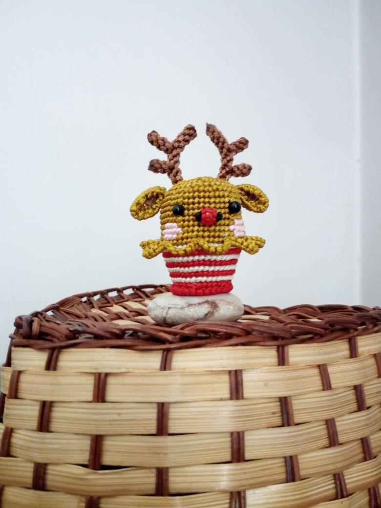 中国结论坛 小鹿纸杯蛋糕 一次性纸杯做娃娃步骤,做蛋糕最正确比例配法,一次性纸杯做小鱼 立体绳结教程与交流区 195359o6cozle4c1dp48p1