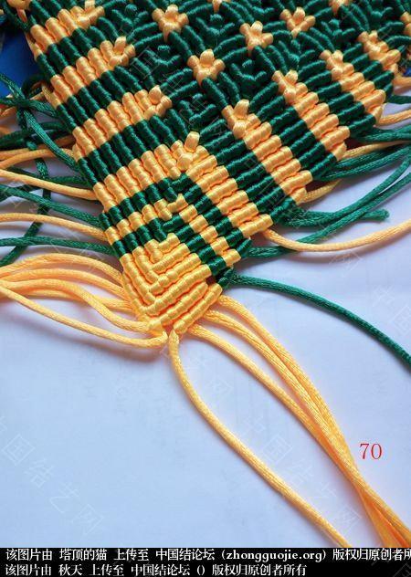 中国结论坛 孔雀果盘的编结过程  立体绳结教程与交流区 191823cgy9e93v9e238gt9