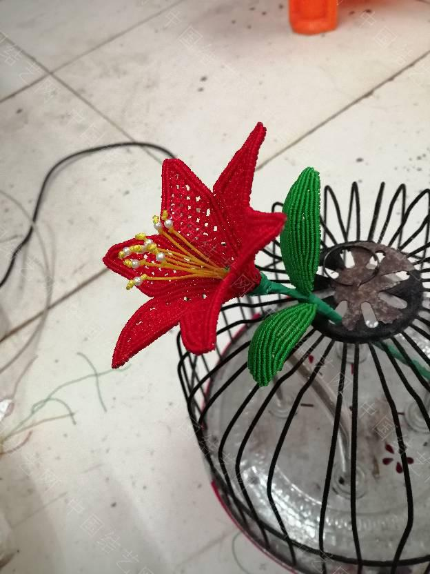 中国结论坛 效仿的百合花  作品展示 150800ibbybe4e1deyes62