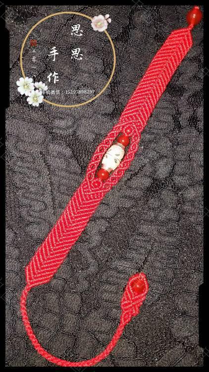 中国结论坛 一个朋友五六个银桶珠让我给编手链,清一色的红绳  作品展示 110329etw4tmyw0ftwt0ac