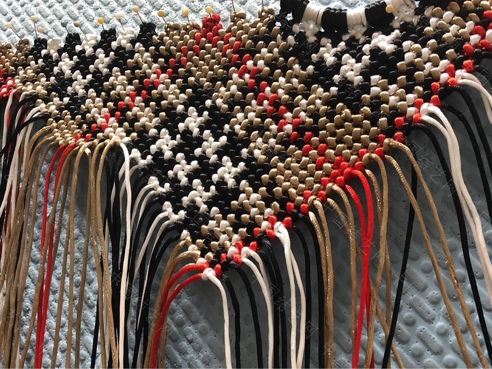 中国结论坛 苏格兰格子的手编包包  作品展示 134554taqi5zh25uzerhua