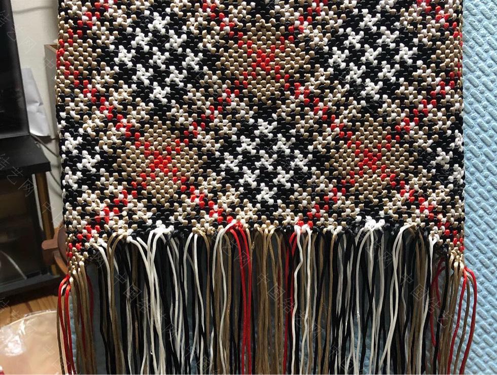 中国结论坛 苏格兰格子的手编包包  作品展示 134604pfsi6fpm6xipe3i3