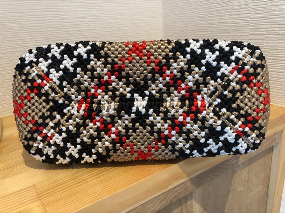 中国结论坛 苏格兰格子的手编包包  作品展示 134738yyuokoly42f77i78