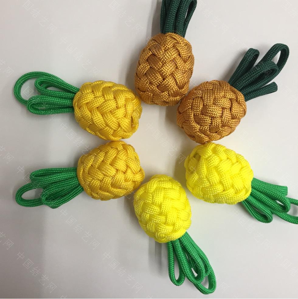 中国结论坛 菠萝小挂饰  作品展示 161008afynj4p1h97pppgf